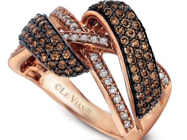 LeVian Chocolate Diamond Gladiator Ring by Le Vian